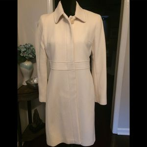Ann Taylor Off White Top Coat